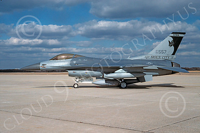 F-16ANG 00081 Lockheed Martin F-16 Fighting Falcon Iowa Air National Guard 85557 via African Aviation Slide Service