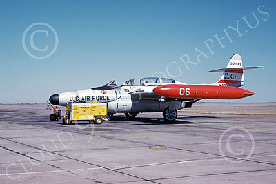 F-89ANG 00027 A static Northrop F-89J Scorpion Iowa ANG Sheppard AFB 3-1969 military airplane picture by Peter B Lewis