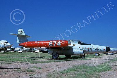 F-89ANG 00023 A static Northrop F-89J Scorpion Iowa ANG 532674 D-M AFB 9-1968 military airplane picture by Clay Jansson