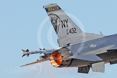 ABF-16 00044 Lockheed Martin F-16 Fighting Falcon New York Air National Guard by Peter J Mancus