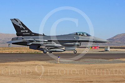 F-16ANG 00023 Lockheed Martin F-16 Fighting Falcon California ANG 87301 144 FW by Peter J Mancus