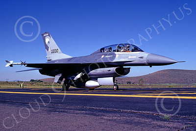 F-16ANG 00024 Lockheed Martin F-16 Fighting Falcon Oregon Air National Guard 82030 Kingsley Field July 1989 by Peter J Mancus