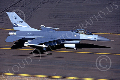 F-16ANG 00026 Lockheed Martin F-16 Fighting Falcon Texas Air National Guard 82997 Kingsley Field by Peter J Mancus
