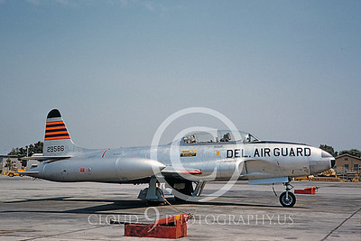 T-33ANG 00019 Lockheed T-33 Shooting Star Delaware ANG Aug 1960 by Clay Jansson