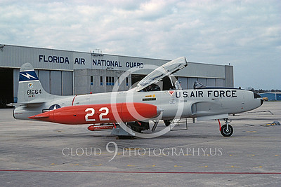 T-33ANG 00013 Lockheed T-33 Shooting Star Florida ANG 27 Oct 1982 by S W D Wolf