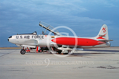 T-33ANG 00011 Lockheed T-33 Shooting Star New Jersey ANG Jan 1985 by Michael Grove, Sr