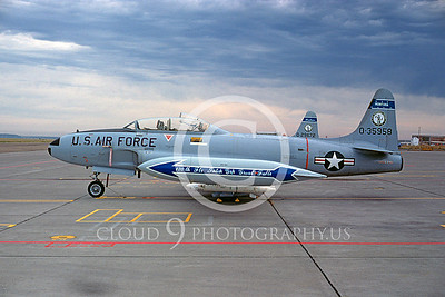 T-33ANG 00015 Lockheed T-33 Shooting Star Montana ANG Sept 1974 by Peter J Mancus