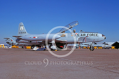 T-33ANG 00029 Lockheed T-33 Shooting Star Oregon ANG Sept 1978 by Peter J Mancus