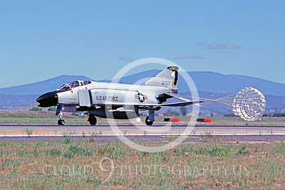 CHUTE 00054 McDonnell Douglas F-4 Phantom II Oregon ANG July 1986 by Peter J Mancus