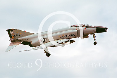 F-4ANG 00118 McDonnell Douglas F-4C Oregon ANG # 40655  June 1988 by Peter J Mancus