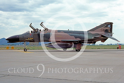 F-4ANG 00109 McDonnell Douglas F-4C Phantom II Oregon ANG # 63448 Kingsley June 1986 by Peter J Mancus