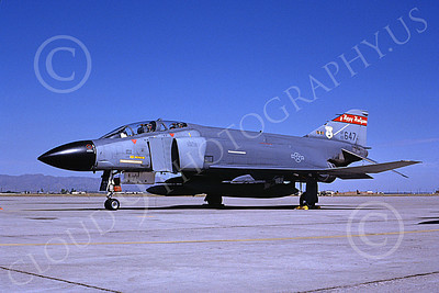 F-4ANG 00119 McDonnell Douglas F-4C Phantom II North Dakota Air National Guard 65647 178 FIS Luke AFB military airplane picture by Bob Shane