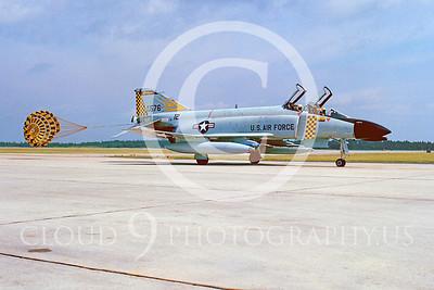 CHUTE 00014 McDonnell Douglas F-4 Phantom II Michigan ANG by Peter J Mancus
