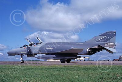 F-4ANG 00045 McDonnell Douglas F-4D Phantom II Minnesota Air National Guard 64980 Sept 1986 military airplane picture by Michael Grove, Sr