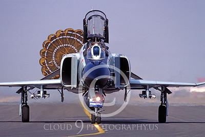 CHUTE 00017 McDonnell Douglas F-4 Phantom II California ANG by Peter J Mancus