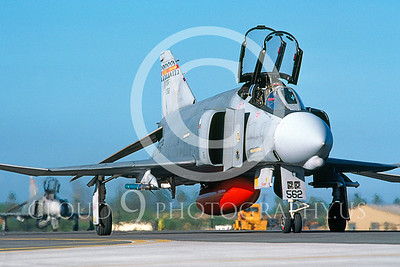 F-4ANG 00003 McDonnell Douglas F-4 Phantom II Hawaii ANG Hickam AFB Feb 1987 by Peter J Mancus