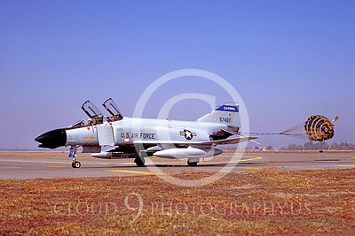 CHUTE 00051 McDonnell Douglas F-4 California ANG Dec 1985 by Peter J Mancus