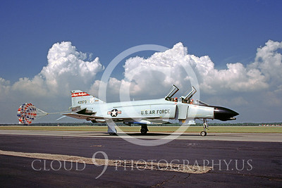 CHUTE 00004 McDonnell Douglas F-4 Phantom II North Dakota ANG Tyndall 1984 by Peter J Mancus