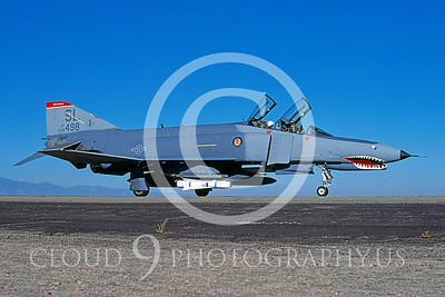 F-4ANG 00101 McDonnell Douglas F-4 Phantom II Missouri ANG #68498 George AFB 1987 by Peter J Mancus