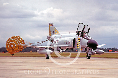 CHUTE 00046 McDonnell Douglas F-4 Phantom II Michigan ANG Oct 1980 by Peter J Mancus