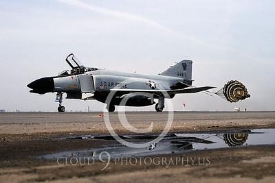 CHUTE 00019A McDonnell Douglas F-4 Phantom II California ANG by Peter J Mancus