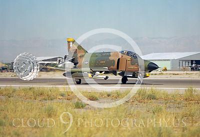 CHUTE 00065 McDonnell Douglas RF-4C Phantom II Alabama ANG by Peter J Mancus