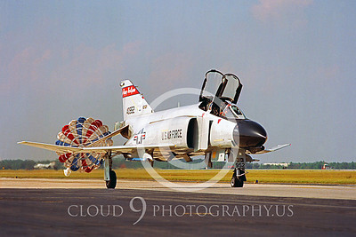 CHUTE 00090 McDonnell Douglas F-4 Phantom II North Dakota ANG by Peter J Mancus