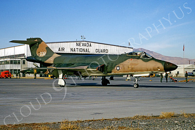 F-101ANG 00001 McDonnell F-101 Voodoo Nevada Air National Guard 56032 Reno December 1969 by Peter B Lewis