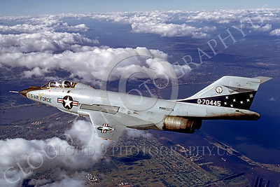 F-101BANG 00008 McDonnell F-101B Voodoo Minnesota Air National Guard 70445 September 1973 by Wayne Gatlin