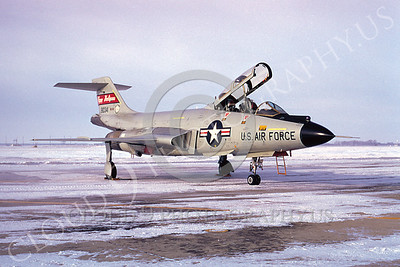 F-101BANG 00015 McDonnell F-101B Voodoo North Dakota Air National Guard 80341 Happy Holligans by Douglas Slowiak