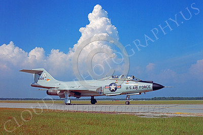 F-101BANG 00019 McDonnell F-101B Voodoo New York Air National Guard 90429 Tyndall AFB by Peter J Mancus