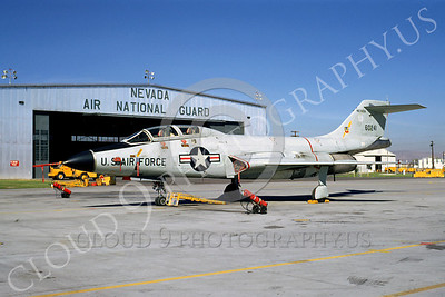 F-101BANG 00007 McDonnell F-101B Voodoo Nevada Air National Guard 60241 September 1968 by Peter B Lewis