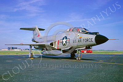 F-101BANG 00027 McDonnell F-101B Voodoo Washington Air National Guard 70283 6 May 1974 by Frederick W Roos