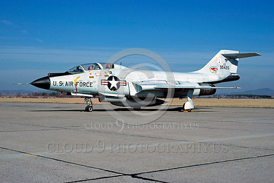 F-101BANG 00013 McDonnell F-101B Voodoo New York Air National Guard 90426 November 1978 by Peter J Mancus
