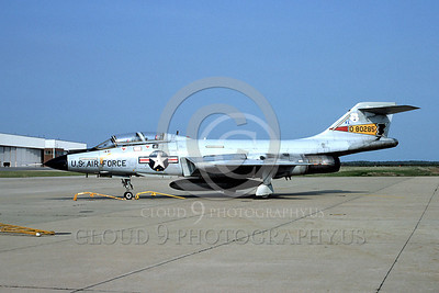F-101BANG 00023 McDonnell F-101B Voodoo New York Air National Guard 80285 Otis AFB 21 May 1977 by Ron Harrison