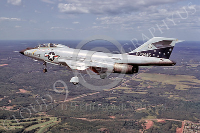 F-101BANG 00022 McDonnell F-101B Voodoo Minnesota Air National Guard 70445 October 1983 by Wayne Gatlin