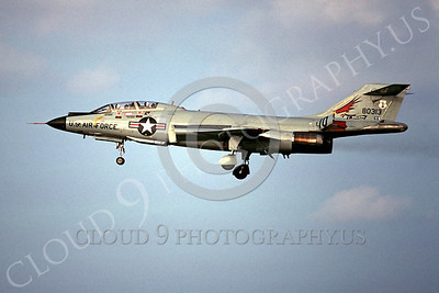 F-101BANG 00006 McDonnell F-101B Voodoo Oregon Air National Guard 80313 November 1978 by Peter B Lewis