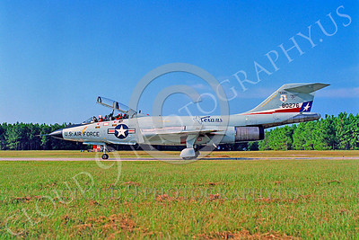 F-101BANG 00025 McDonnell F-101B Voodoo Texas Air National Guard 80276 Tyndall AFB by Peter J Mancus