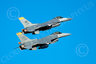 F-16ANG 00160 Lockheed Martin F-16 Fighting Falcon New Mexico Air National Guard 89015 by Peter J Mancus