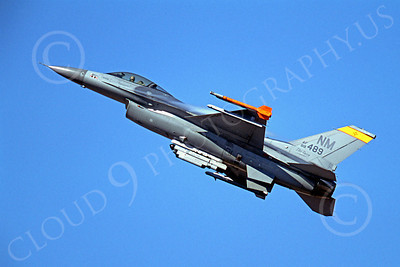 F-16ANG 00182 Lockheed Martin F-16 Fighting Falcon New Mexico Air National Guard 88499 by Peter J Mancus