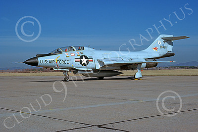 F-101BANG 00069 A static McDonnell F-101B Voodo New York ANG 90426 11-1978 military airplane picture by Ron McNeil