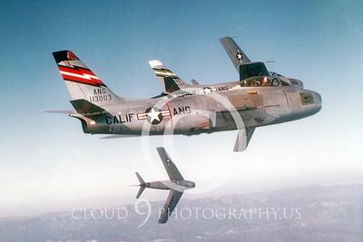 F-86ANG 00002 North American F-86 Sabre California ANG via California ANG