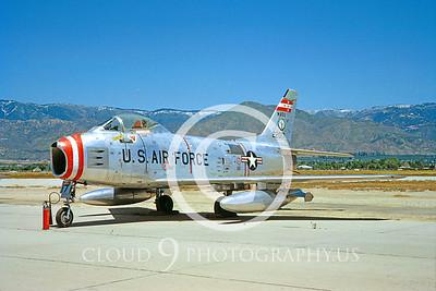 F-86ANG 00001 North American F-86H Sabre Massachusetts ANG May 1964 by Clay Jansson
