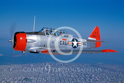 T-6ANG 00004 North American T-6D Texan California ANG Oct 1949 by William T Larkins