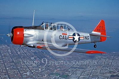 T-6ANG 00002 North American T-6 Texan California ANG 15 Oct 1949 by William T Larkins