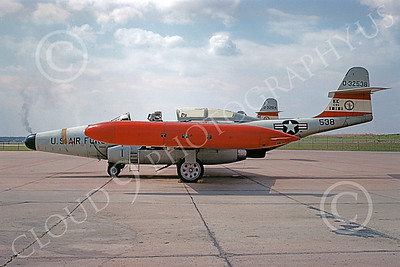F-89ANG 00024 A static Northrop F-89 Scorpion Iowa ANG 32538 9-1968 military airplane picture by Peter B Lewis