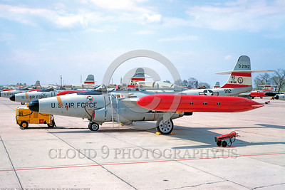 F-89ANG 00005 A static Northrop F-89 Scorpion anti-bomber interceptor Iowa ANG 0-21912 May1967, military airplane picture by Peter B Lewis     DONEwt copy