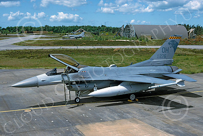 F-16ANG 00041 Lockheed Martin F-16 Fighting Falcon Ohio Air National Guard 87276 via African Aviation Slide Service