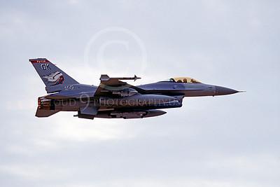 F-16ANG 00034 Lockheed Martin F-16 Fighting Falcon Oklahoma Air National Guard 88017 Sept 2000 by Peter J Mancus