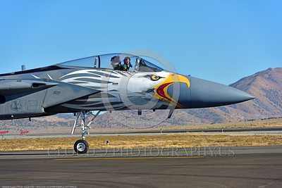 EE-F-15ANG 0029 A F-15 Eagle air superiority jet fighter pilot Oregon Air National Guard taxis for take-off 9-2016 military airplane picture by Peter J  Mancus